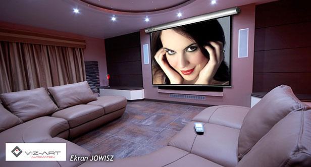 ekran elektrycznie rozwijany