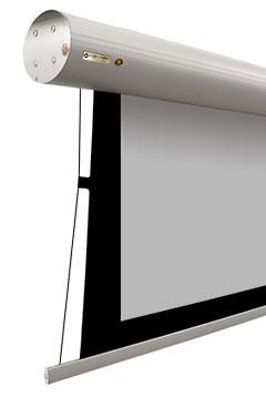 Ekran z systemem napinaczy bocznych