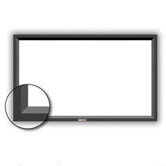 ekran ramowy z welurową powierzchnią