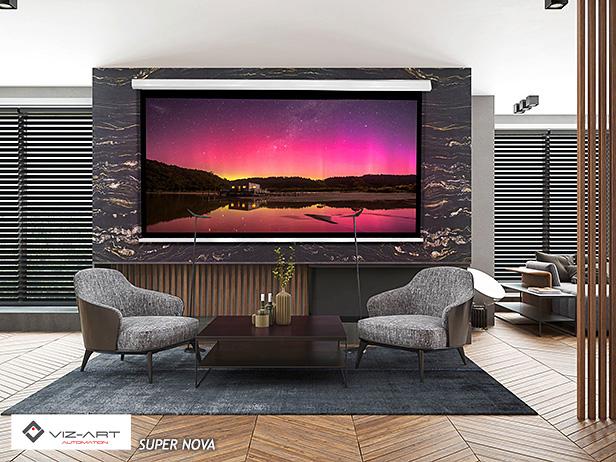 ekrany projekcyjne - kino domowe