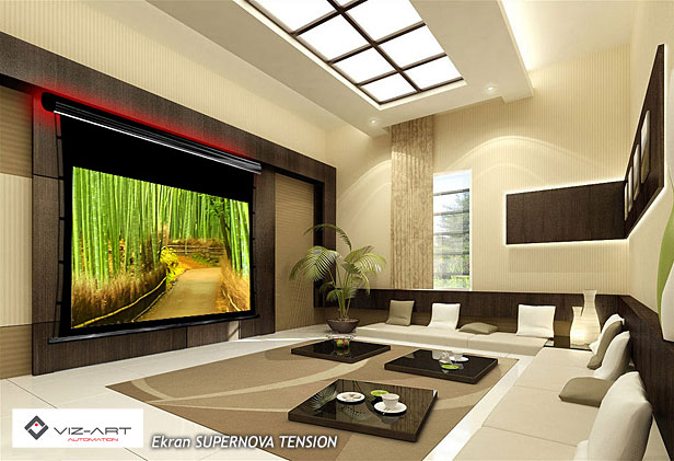 ekran do kina domowego