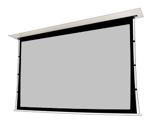 ekran powierzchnia Cine Grey