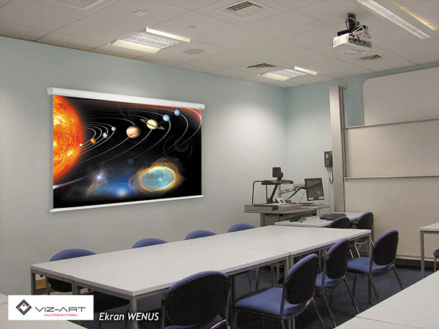 Ekrany projekcyjne WENUS Plus