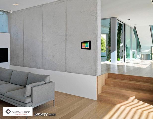 inteligentny dom - panel sterowania