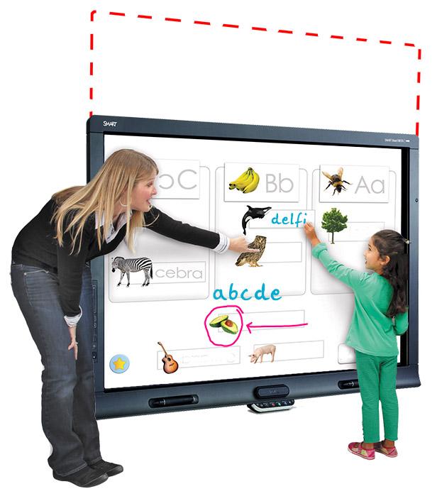 Podnośnik Elektryczny do tablic multimedialnych