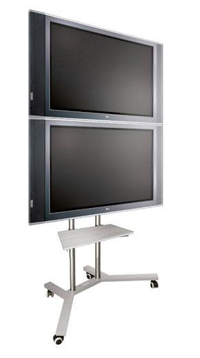 Stand jezdny do monitorów plazmowych