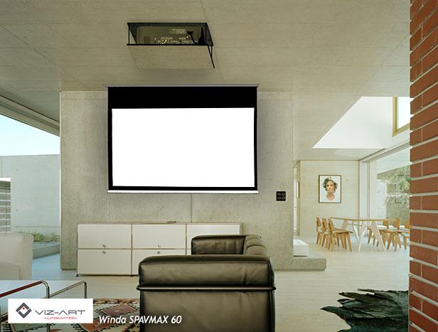 specjalistyczna winda do projekcji TV